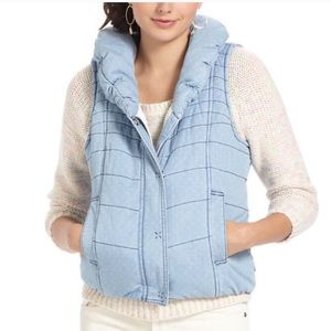 Daughters of the Liberation Pindot Chambray Vest